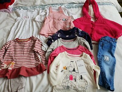 Girls bundle 3-6 months some new with tags bluezoo, mothercare,M&S and more