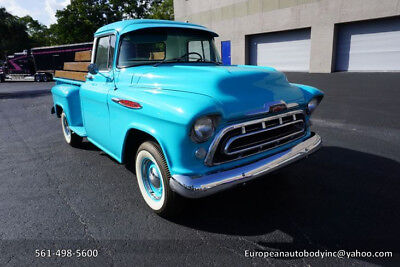 1957 Chevrolet Other Pickups  1957 Chevy 3200 Long Bed . Restored . South Florida Pickup truck