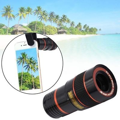 High Quality Clip-on 8x Zoom Optical Telescope Camera Lens for Panasonic Models