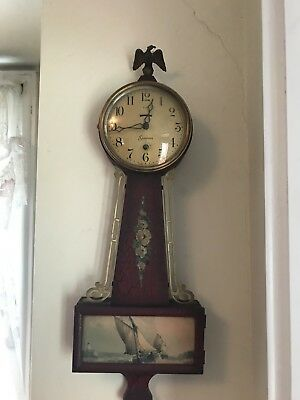 Antique Sessions 8-Day Mechanical Banjo Clock Nantucket