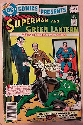 DC COMICS PRESENTS No. 6 starring Superman & Green Lantern