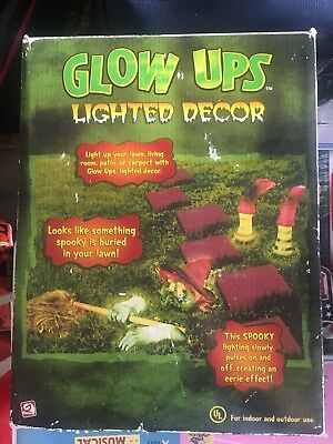 Gemmy Indoor/Outdoor Glow Ups Witch Crash