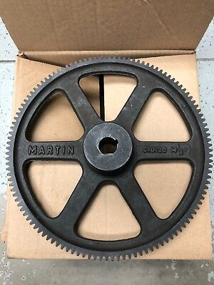 Martin C10120 Spur Gear 14 1/2 Degree Cast Iron