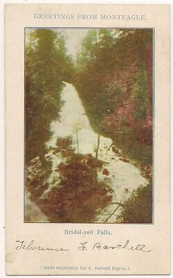 1907 Udb Monteagle Tn Tennessee Franklin Grundy Marion Counties Postcard