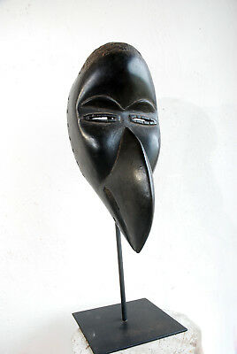 Masque Dan/ Mahou  ancien a bec Koma Liberia collection Sabiron mask antic old