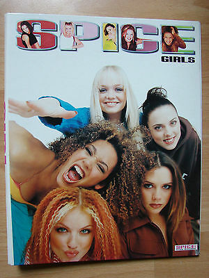 Spice Girls ringbinder brand new official licensed 1997 rare item A4 size