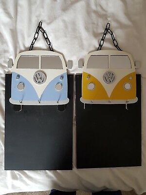 Handmade Message Board And Key rack . Campervan Design