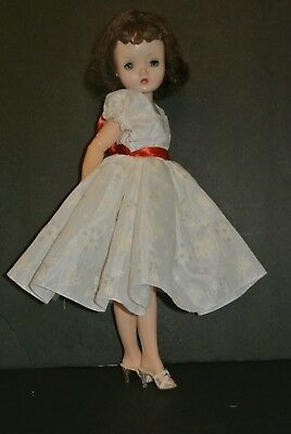 """Vintage Inspired """"Christmas In Augus"""" Madame Alexander Cissy Doll Dress New"""