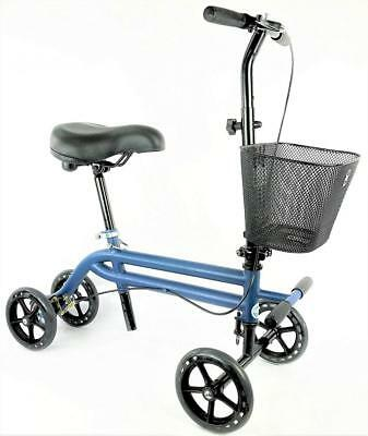 Evolution Steerable Seated Scooter Mobility Knee Walker Turning Leg Crutches...