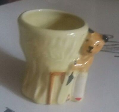 Vintage Sooty Egg Cup, playing cricket