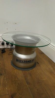 Formula 1 Wheel From Iconic Williams F1 Team. Makes For A Perfect Table!