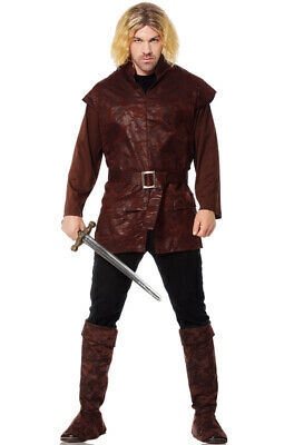 Brand New Game of Thrones Renaissance Medieval Tunic Adult Costume