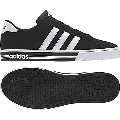 separation shoes 45093 26afe Chaussures ADIDAS NEO DAILY équipe Homme AW4575 BASKETS SPORTIF NOIR NUBUCK