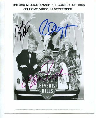 BETTE MIDLER richard dreyfuss NICK NOLTE autographed HAND SIGNED 3243