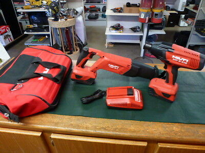Hilti 2 Tool Set w/ 2 Batteries and Charger