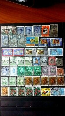 CEYLON LOT OF 49 STAMPS USED 4 photos 0720183
