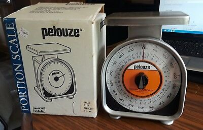 pelouze MODEL A12R 32oz Restaurant Kitchen Scale Portioning, Food Cost Culinary