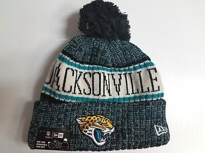 7c877240 Jacksonville Jaguars New Era Knit Hat On Field 2018 Sideline Beanie  Stocking Cap