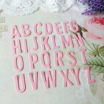 A-Z English Letters Metal Cutting Dies Stencils Embossing DIY Craft Paper Card