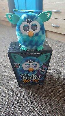 *Furby Boom Turquoise/blue wave Excellent condition*