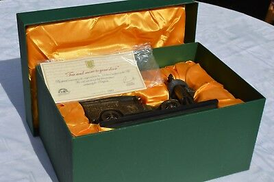 Ringtons Limited Edition Cold cast bronze Figure - Tea and more to your door