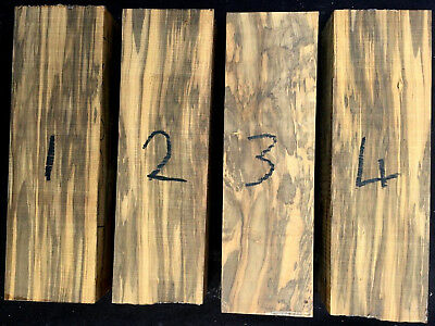 Spalted boxwood knife scale / knife handle blocks / carving blocks 150 x 45 x 30
