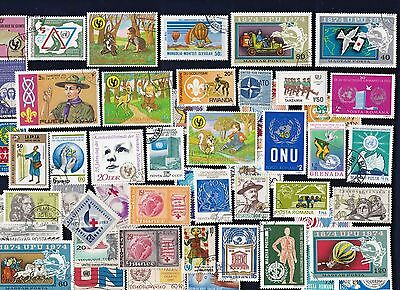 50 WORLD ORGANIZATIONS on Stamps