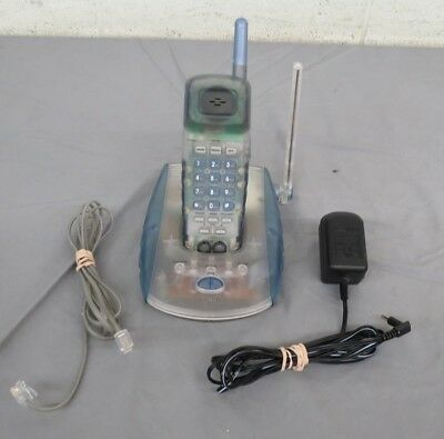VTech VT 9117 Clear Plastic 900 MHz Cordless Phone Satisfaction Guaranteed LOOK