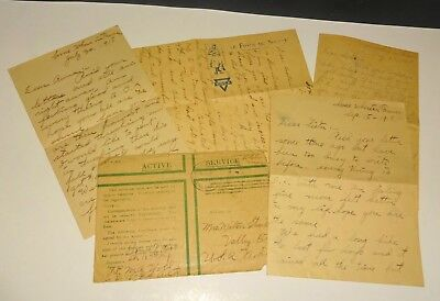 Collection of WWI Letters by Pvt. Martin Wold from the French Front