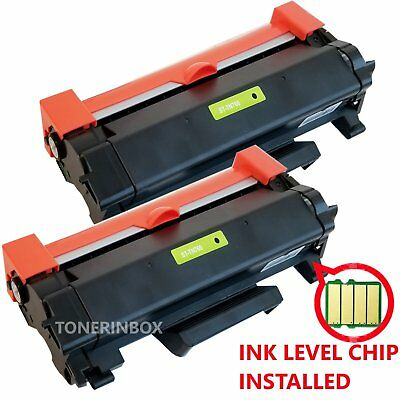 2PK High-Yield TN760 Toner Compatible TN730 For Brother HL-L2350DW HL-L2370DW