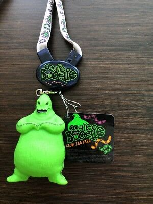 Disney Parks Light-Up Nightmare Before Christmas Oogie Boogie Lanyard NEW