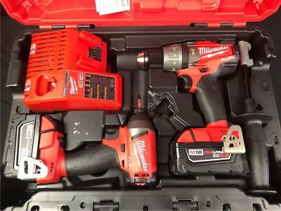 Milwaukee M18 Fuel 2-tool Combo Kit 2897-22 Hammer Drill & Impact Driver *NEW*