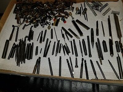 Large Lot of Miscellaneous Machinest Screws, Springs, and More MUST SEE!!!!!!