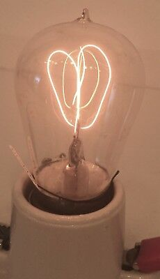 Lot of 4 bulbs - Antique Light Bulbs