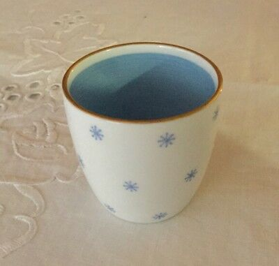 Gorgeous Susie Cooper Bone China Egg Cup.Blue & White.Made in England