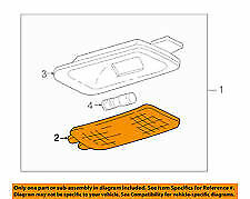 GM 15032588 Geniune part NEW in package lens light cover