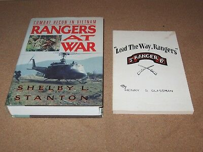 Rare LEAD THE WAY RANGERS, 5th Ranger Battalion WWII, D-Day, RANGERS AT WAR 1st