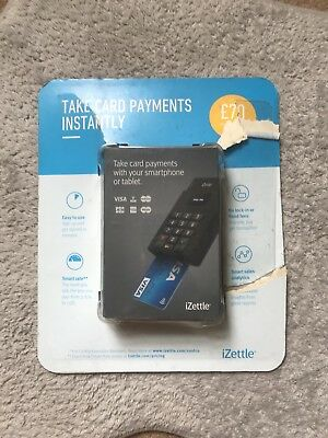 iZettle BRAND NEW Wireless Chip & Pin Card Reader Smartphones & Tablets