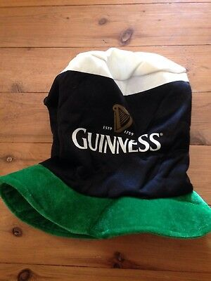 Guiness 250th Anniversary St Patricks Day Hat and XXXL Guiness T Shirt
