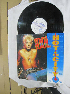 """Billy Idol Hot In The City Vinyl Single Record 12"""" Limited Edition"""