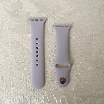New Authentic/Genuine Apple Watch Band 38mm S/M Lavender with Rose Gold Pin