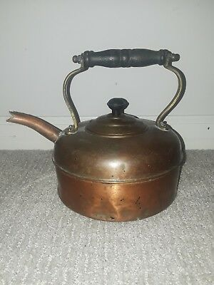 COPPER KETTLE TEA POT Vintage