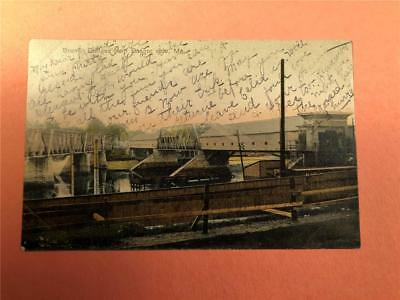 Brewer Bangor Penobscot County ME Bridges Covered Uncovered 1907