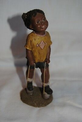 "All God's Children ""GARMEN"" Martha Holcombe Figurine #18"
