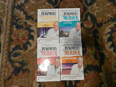 Lot of 4 Diagnosis Murder Books by Lee Goldberg Based on TV Series