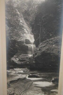 Photo WATKINS GLEN, NY.vintage original SILVER GELATIN PHOTOGRAPH THE POOLS