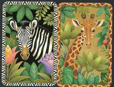 African Animals In The Bush Excellent Condition