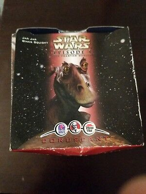 Star Wars Episode I Jar Jar Binks Squishy Coruscant - Pizza Hut - 1999