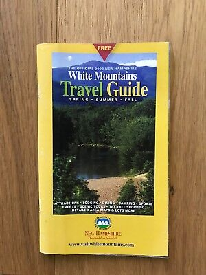 Vintage New Hampshire White Mountains Tour Guide & Vermont Green Mountain Guide!