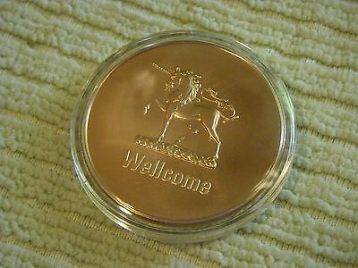 Burroughs Wellcome Company TOKEN-NEW & SEALED April 7, 1972 Pharma collectible